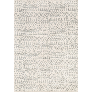 Elaziz Grey Rectangular: 7 Ft. 10 In. x 10 Ft. 3 In. Rug