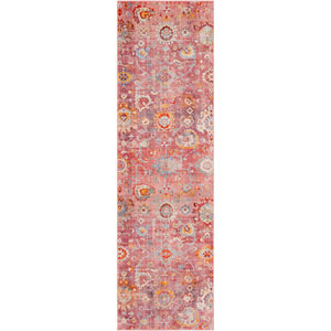 Ephesians Pink Runner: 2 Ft. 7 In. x 9 Ft. Rug