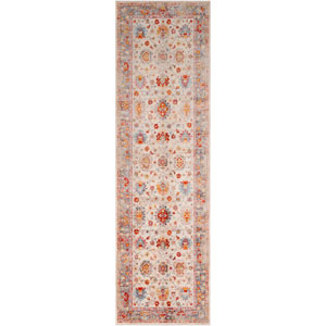 Ephesians Cream Runner: 2 Ft. 7 In. x 9 Ft. Rug
