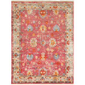 Ephesians Pink Rectangle: 7 Ft. 10 In. x 10 Ft. 3 In. Rug