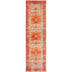 Ephesians Orange Runner: 2 Ft. 7 In. x 9 Ft. Rug