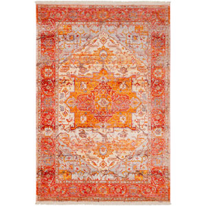Ephesians Orange Rectangle: 9 Ft. x 12 Ft. 10 In. Rug