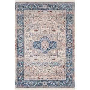 Ephesians Blue Rectangle: 9 Ft. x 12 Ft. 10 In. Rug