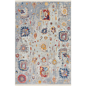 Ephesians Multicolor Rectangular: 2 Ft. 7 In. x 9 Ft. Rug