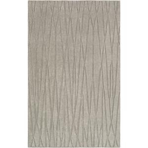 Etching Medium Grey Rectangular: 5 Ft. x 8 Ft. Rug