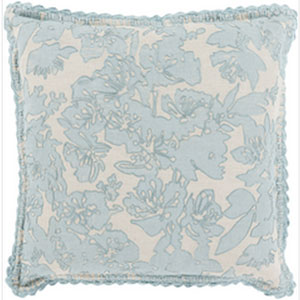 Evelyn Gray 22-Inch Pillow with Poly Fill