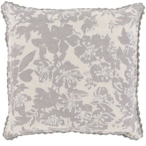 Evelyn Gray 20-Inch Pillow Cover