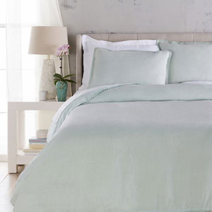Evelyn Seafoam California King Bed Skirt