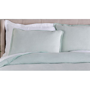 Evelyn Blue Euro Sham