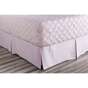 Evelyn Purple Queen Bed Skirt