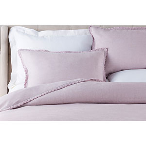 Evelyn Purple King Sham