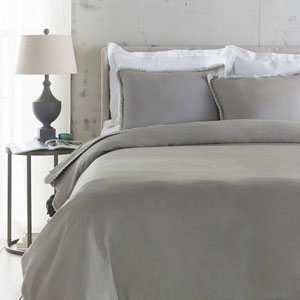 Evelyn Dove Twin Duvet Set