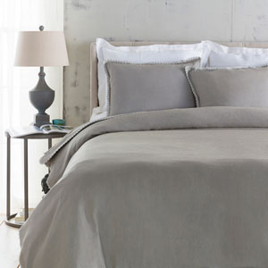 Evelyn Gray Three-Piece King Duvet Set