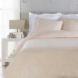 Evelyn Blush Twin Bed Skirt