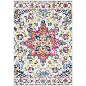 Elaziz Multicolor Rectangular: 5 Ft. 3 In. x 7 Ft. 6 In. Rug