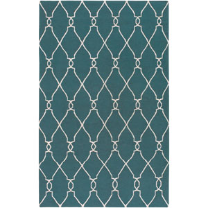 Fallon Turquoise Rectangular: 5 Ft. x 8 Ft. Rug