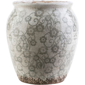 Flora Gray Small Table Vase