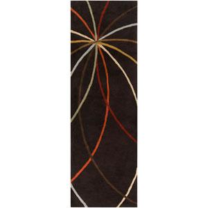 Forum Chocolate Rectangular: 2 ft. 6 in. x 8 ft. Runner