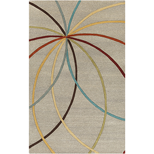 Forum Khaki Rectangular: 5 Ft. x 8 Ft. Rug