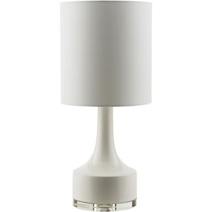 Farris White One-Light Table Lamp