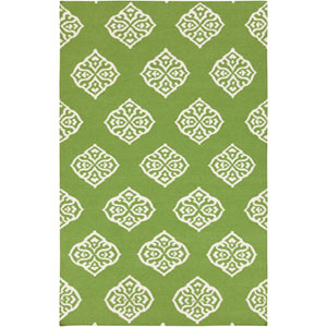 Frontier Peridot and Antique White Rectangular: 5 Ft. x 8 Ft. Rug