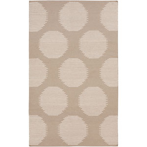 Frontier Stone and Ivory Rectangular: 5 Ft. x 8 Ft. Rug