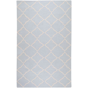 Frontier Pale Blue Rectangular: 5 Ft. x 8 Ft. Rug