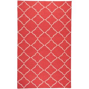 Frontier Red Rectangular: 5 Ft. x 8 Ft. Rug