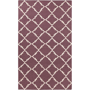 Frontier Papyrus and Prune Purple Rectangular: 2 Ft. x 3 Ft. Rug