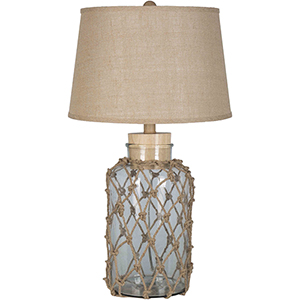 Amalfi Natural One-Light Table Lamp