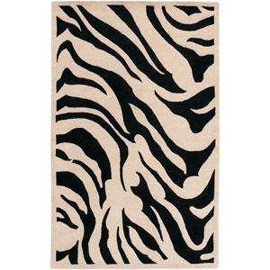 Goa Zebra Rectangular: 5 Ft. x 8 Ft. Rug