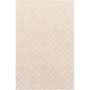 Gable Ivory and Beige Rectangular: 2 Ft x 3 Ft Rug