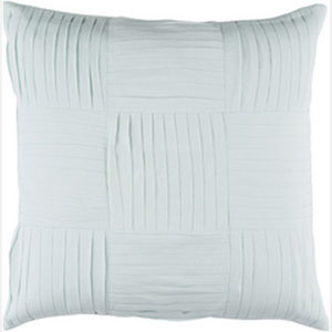 Gilmore Sea Foam 20-Inch Pillow with Down Fill