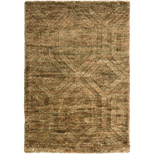 Galloway Ivory and Olive Rectangular: 2 Ft x 3 Ft Rug