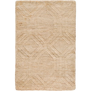 Galloway Ivory and Beige Rectangular: 2 Ft x 3 Ft Rug