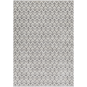 Lagom Grey and Ivory Rectangular: 5 Ft. 3 In. x 7 Ft. 3 In. Rug
