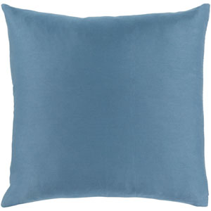 Griffin Blue 22-Inch Pillow Cover