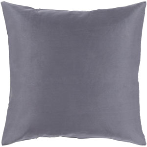 Griffin Gray 22-Inch Pillow Cover