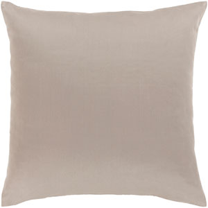 Griffin Gray 18-Inch Pillow Cover