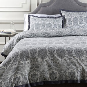 Griffin Pewter Twin Duvet