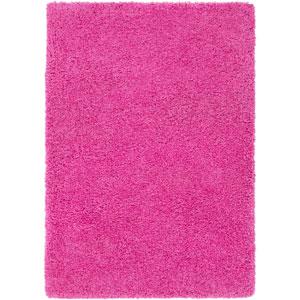 Galaxy Shag Bright Pink Rectangular: 2 Ft. x 3 Ft. Rug