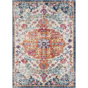 Harput Multicolor Rectangular: 3 Ft. 11 In. x 5 Ft. 7 In. Rug