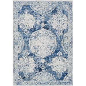 Harput Blue Rectangle: 2 Ft. x 3 Ft. Rug