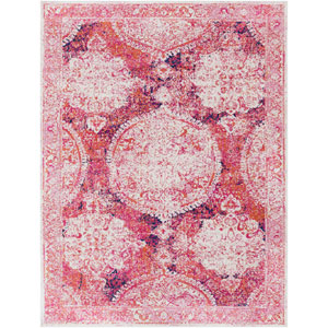 Harput Red Rectangle: 7 Ft. 10 In. x 10 Ft. 3 In. Rug