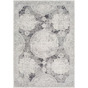 Harput Gray Rectangle: 2 Ft. x 3 Ft. Rug