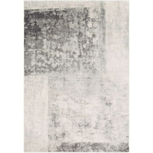 Harput Gray and Beige Rectangle: 2 Ft. x 3 Ft. Rug
