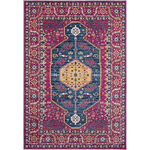 Harput Garnet Rectangular: 7 Ft. 10 In. x 10 Ft. 3 In. Rug