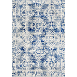 Harput Blue Rectangular: 6 Ft. 7 In. x 9 Ft. Rug
