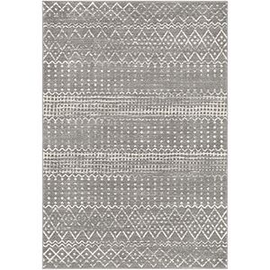 Harput Grey Rectangular: 6 Ft. 7 In. x 9 Ft. Rug