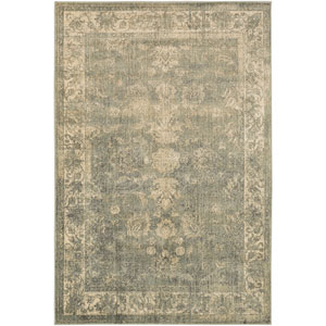 Hathaway Olive and Charcoal Rectangular: 1 Ft 10 In x 2 Ft 11 In Rug